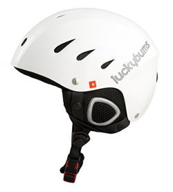 Lucky Bums Snow Sport Helmet, White, Medium
