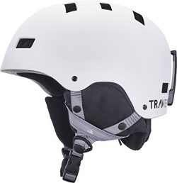 Traverse Sports Dirus Convertible Ski & Snowboard/Bike & Helmet, Matte Snowcap, Small (5 ...