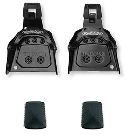 Rottefella Super Telemark 3-Pin 75mm Back Ski Bindings for Boots Soles 12-20mm Thick