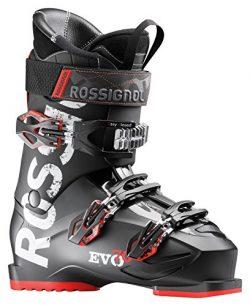 Rossignol Men's EVO 70 Ski Boots (Black/Red, 29.5)