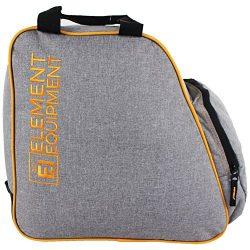 Element Equipment Boot Bag Snowboard Ski Boot Bag Pack Heather Grey/Orange New for 2018