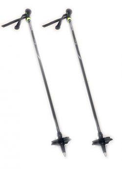 Winget Carbon Fiber Mountain Alpine Ski Poles Shaft Length 39.3″ XA-50110