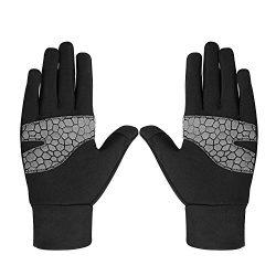 Non-Slip Touchscreen Gloves – Monstleo Mens&Womens Winter Warm Glove for Skiing/SnowBo ...