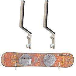 Snowboard Storage Rack Display Rough Wall Mounted Storage Rack – Fit most snowboards (No t ...