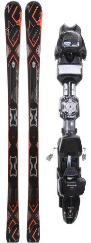 K2 A.M.P. Bolt Skis w/ Marker MX 12.0 Demo Bindings Mens Sz 186
