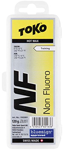 Toko NF Hot Ski Wax, Yellow, 120gm