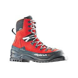 Alpina Sports Alaska 75 Leather 3 Pin 75 mm Backcountry Cross Country Nordic Ski Boots, Euro 46, ...