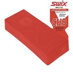 Swix Hydrocarbon Wax: CH8X Red: 180 grams: Bulk Wax