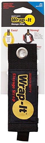 Wrap-It Storage 100-30B Strap, Large, Black