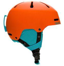 Traverse Sports Youth Ski/Snowboard & Snowmobile Helmet, Matte Tangerine, Small (52-55cm)