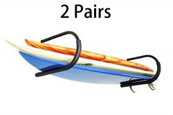 2 Pairs Protek Indoor Outdoor SUP Board Paddleboard Snowboard Surfboard Wakeboard Ski Storage Ce ...