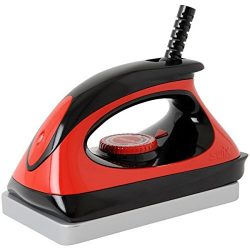Swix Universal Ski & Snowboard Waxing Iron with 110V Adjustable Temp, Red, Large