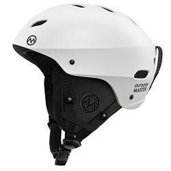 OutdoorMaster Ski Helmet – with Certified Safety, 9 Different Color Options – for Me ...