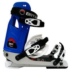 Envy Ski Frame – Comfortable Ski Boots (Blue, Large)