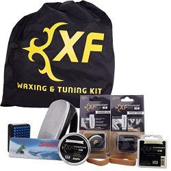 Swix XF Ski Snowboard All Mountain Wax and Edge Tuning Kit