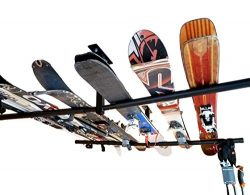 Ski & Snowboard Adjustable Ceiling Storage Rack | Hi-Port 2 Mount | StoreYourBoard