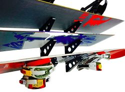 Snowboard Multi Wall Rack | Home Storage & Organization Horizontal Mount | StoreYourBoard