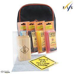 Snowboard / Ski Universal Wax Tune Kit from DEYS. Wax (4 pc: All Temp, Cold, Warm, Graphite), Pl ...