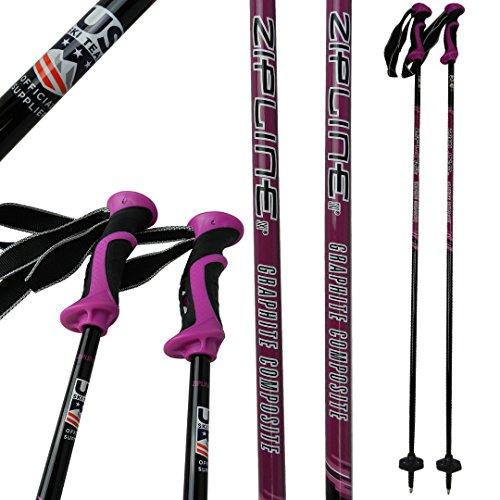 "Ski Poles Carbon Composite Graphite – Zipline ""Lollipop"" U.S. Ski Team Officia ..."