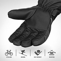 Freestyle – Winter Snowboard & Ski Gloves, Warm 3M Thinsulate, Waterproof, Windproof & ...
