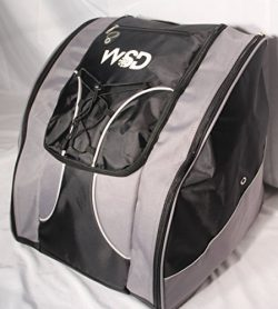 WSD Ski Boot Bag, Black/Gray
