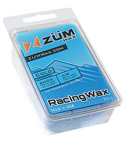 ZUMWax Ski/Snowboard RACING WAX – COLD Temperature – 100 gram – INCREDIBLY FAS ...
