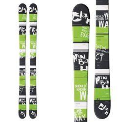 Elan Pinball All Mountain Freestyle Skis 165cm