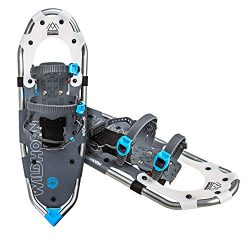 Wildhorn Sawtooth Snowshoes For Men and Women. Fully Adjustable Bindings, Lightweight Material,  ...