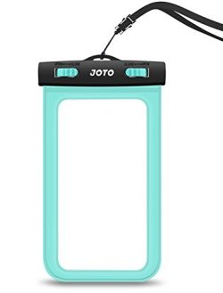 JOTO Waterproof Cell Phone Dry Bag Case for Apple iPhone 6, 6 plus, 5S 5C 5 4S, Samsung Galaxy S ...