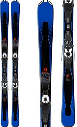 Salomon XDR 75 Skis with Lithium 10 Bindings 2018 – 175cm