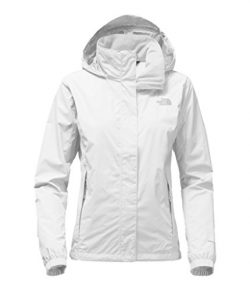 The North Face Womens Resolve 2 Jacket TNF White and High Rise Grey – S
