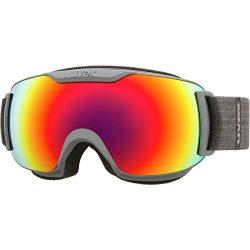 Uvex Downhill 2000 S FM Womens Snow Goggles One Size Dark Grey Mat ~ Rainbow