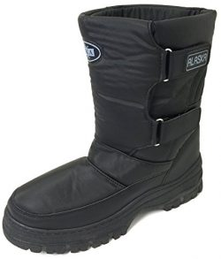 VK-3100CS Men's Snow Boots Winter Boots Cold Weather Water Repellent Nylon Ski Warm Fur Li ...