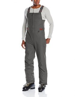 Arctix Men's Athletic Fit Avalanche Bib Overall, Charcoal, X-Large