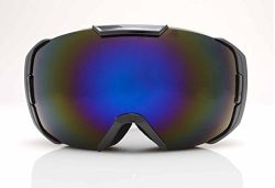 Sol Alpine Couloir snow goggles w/ Revo Blue lenses