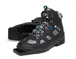 New Whitewoods Adult 301 3 Pin 75mm Nordic Cross Country XC Insulated Ski Boots (46)