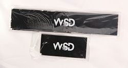 WSD Snowboard wax scraper 30cm long (11 7/8 inch) with ski scraper great for travel combo