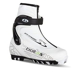 BOTAS – DYNAMIC SNS W / Nordic Cross-Country Ski Boots / Color: White & Black Size: 8.5