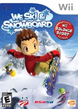 We Ski and Snowboard – Nintendo Wii