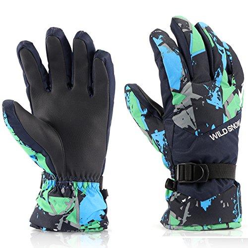 Ski Gloves,RunRRIn Winter Warmest Waterproof and ...