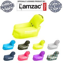 Inflatable Lounger Chair with Detachable Pillow: Lazybag Air Lounge Chair for Indoor Outdoor Use ...