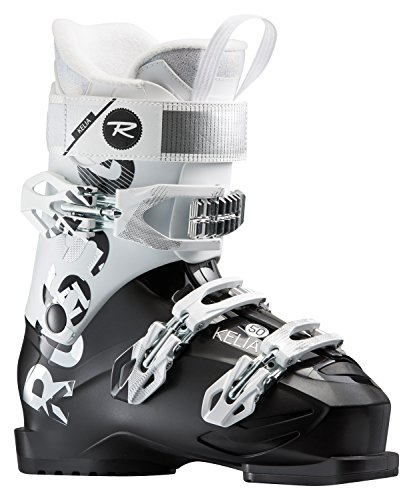 Rossignol Women's Kelia 50 Ski Boots (Black/White, 27.5)