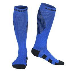 Nurse Compression Socks 20-30 mmHg for Men & Women – Best Stockings for Running, Cross ...