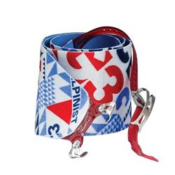 G3 Alpinist Climbing Skin Red/Blue, 115mm – Short