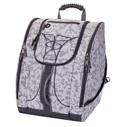 Athalon Everything Boot Bag, White Out