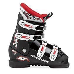 2016 Nordica GP TJ Junior Ski Boots (Black/Red, 23.5)