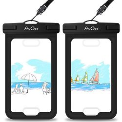 Waterproof Case with Touch ID, ProCase Cellphone Dry Bag Pouch for Apple iPhone 7 / 7 Plus with  ...