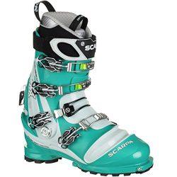 Scarpa TX Pro Telemark Boot – Women's Emerald/Ice Blue, 24.5