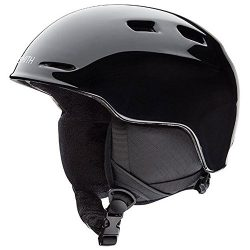 Smith Optics Unisex Youth Zoom Jr Snow Sports Helmet – Black Youth Small (48-53CM)