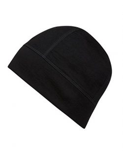 100% Imported Australian Merino Wool Stretch Fit Light Weight Insulated Beanie Hat 190 GSM Runni ...